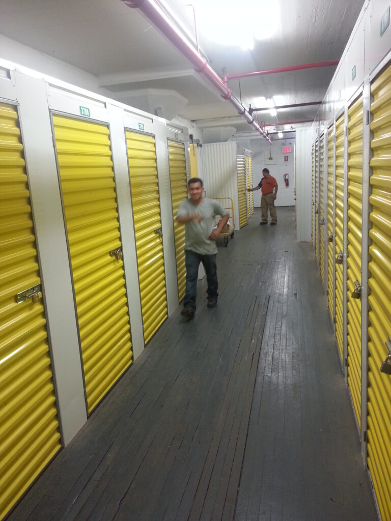 Completed NYC Storage Rooms