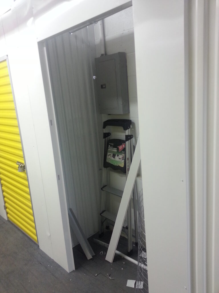 Inside of future Storage Room
