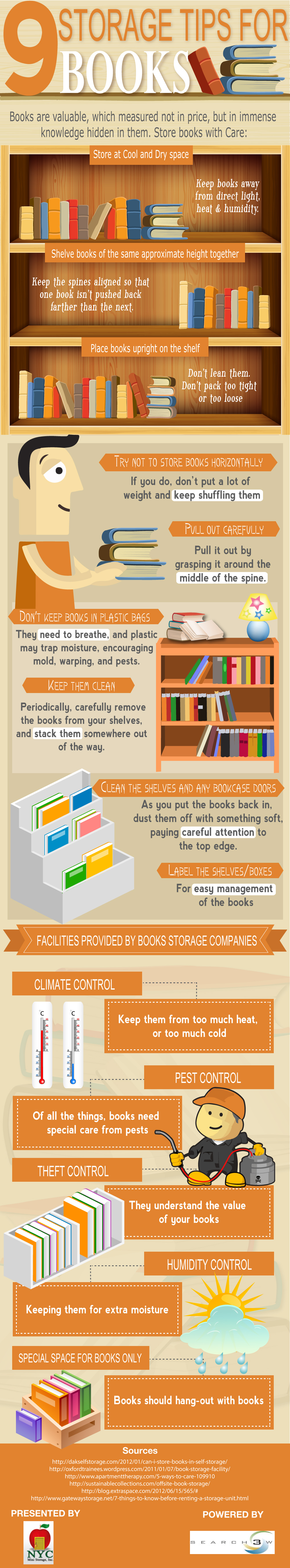 9 Storage Tips for Books