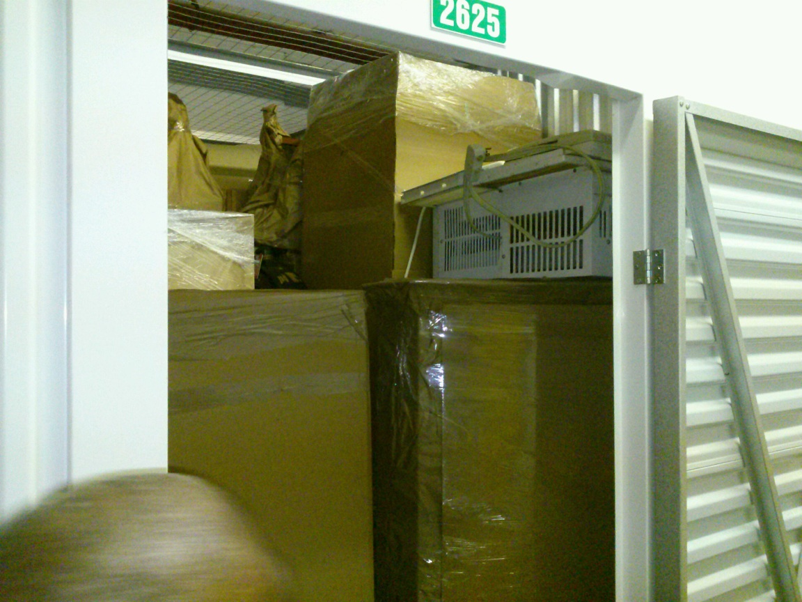 Packing A Storage Room By Our Movers Bronx Ny Mini Storage
