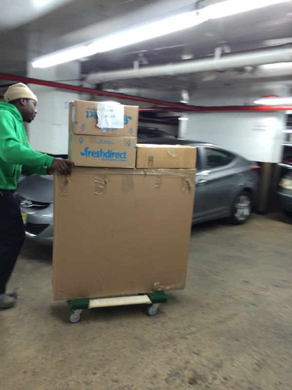 moving our customer to our nyc mini storage  unit 3