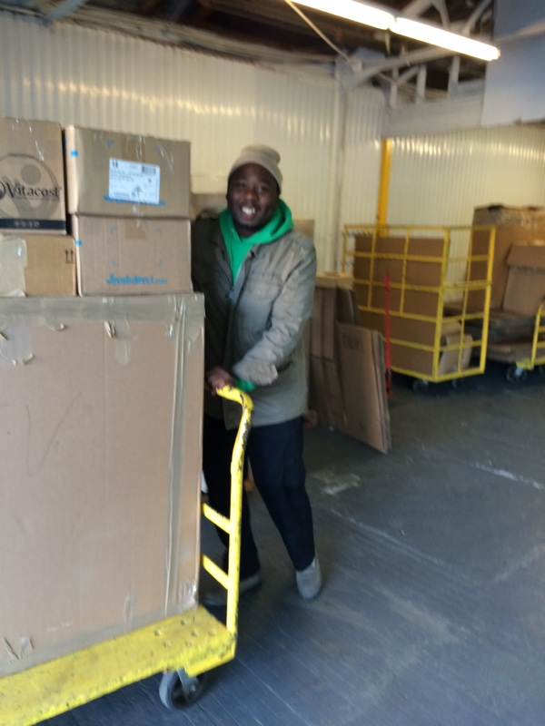 moving our customer to our nyc mini storage  unit 4