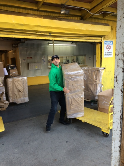 moving our customer to our nyc mini storage  unit 5