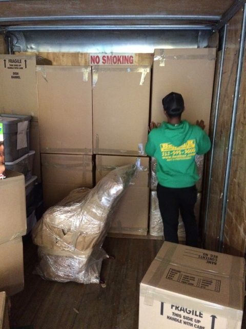 moving our customer to our nyc mini storage  unit 6