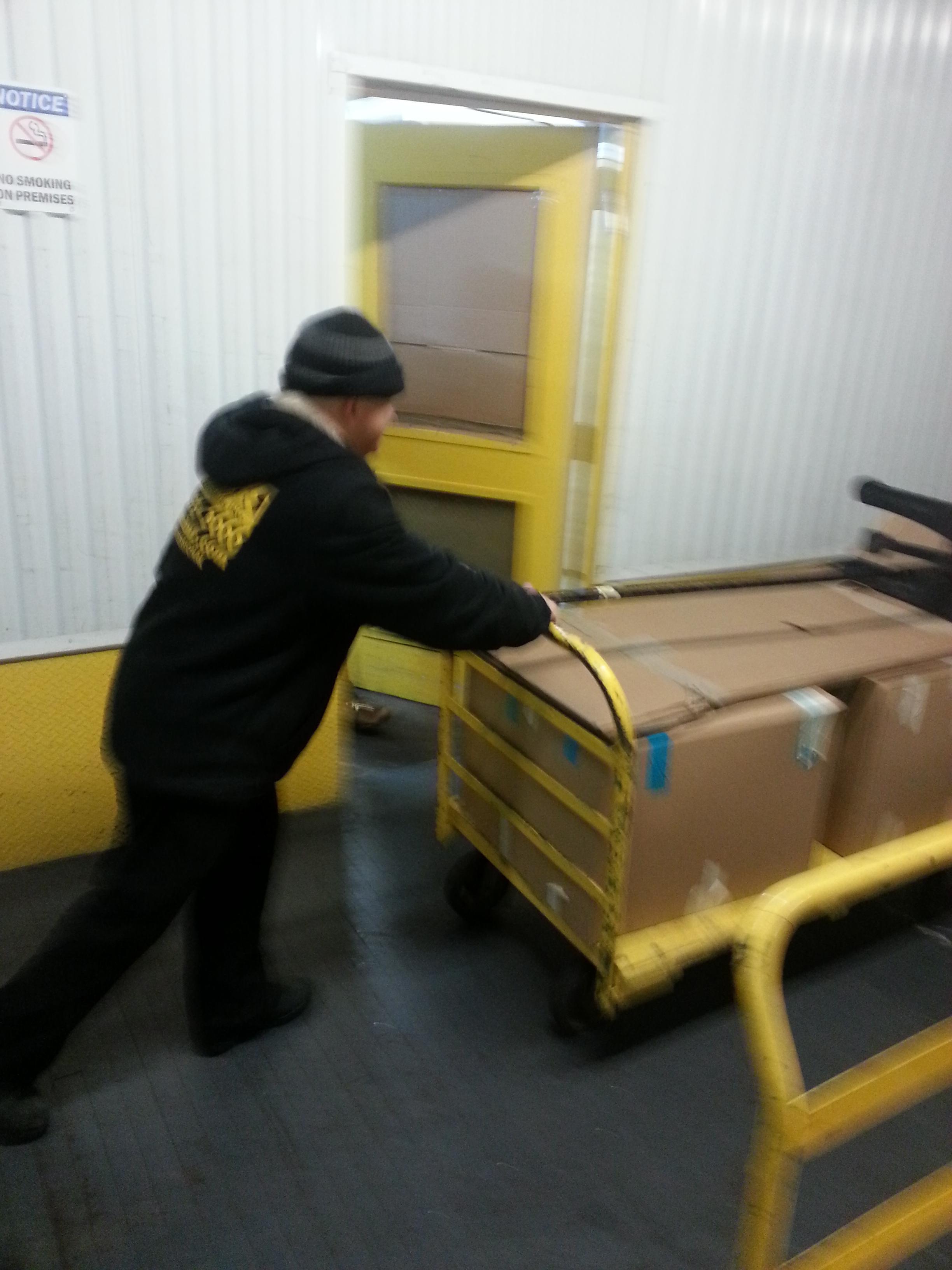 Moving Crew Moving Items Into Storage Bronx Ny Mini Storage